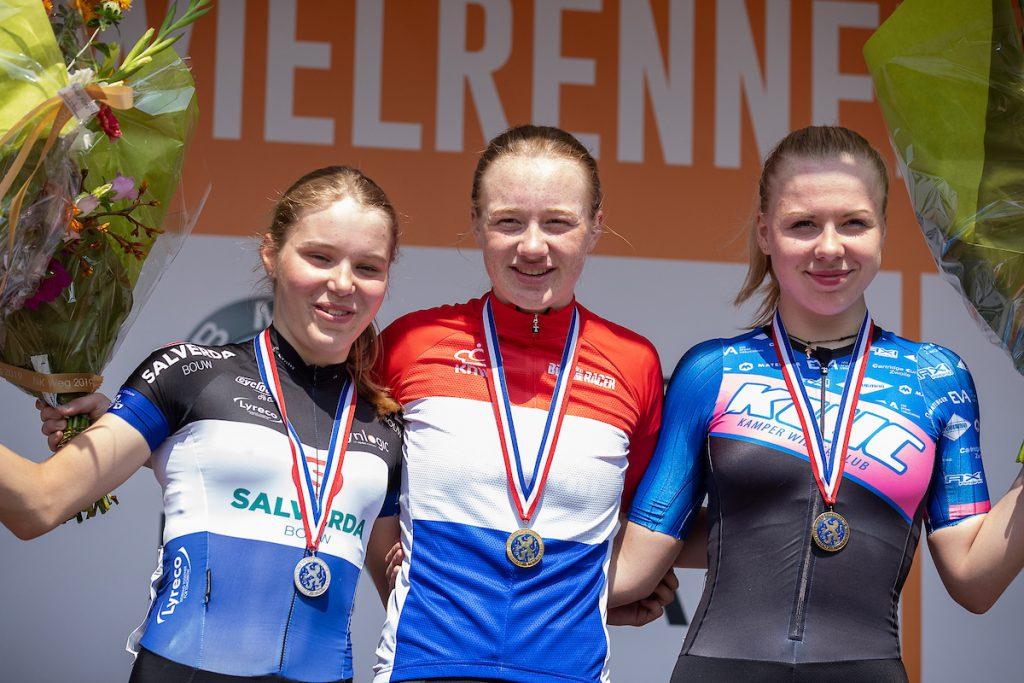 Nienke Veenhoven NK junior vrouwen 2019