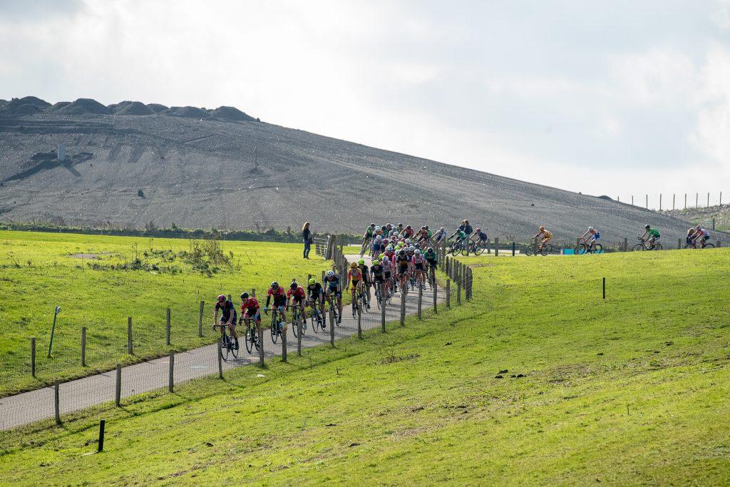 Olympia's Tour over de VAM-berg als voorproef op het NK wielrennen.