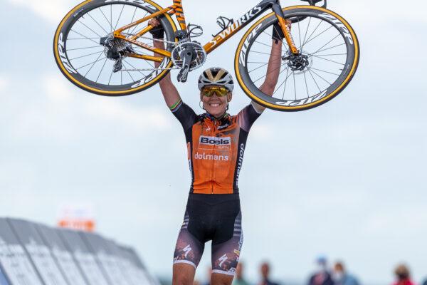 Anna van der Breggen NK profs vrouwen 2020
